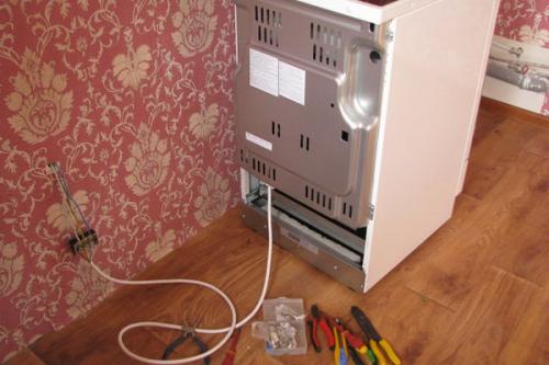 Установка электроплиты в Томилино